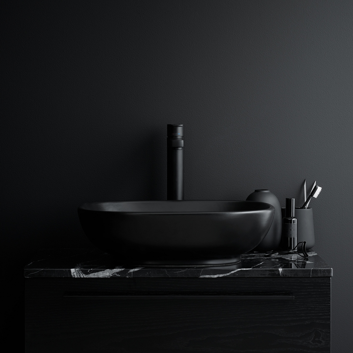 Stone Lay-on Washbasin Stockholm