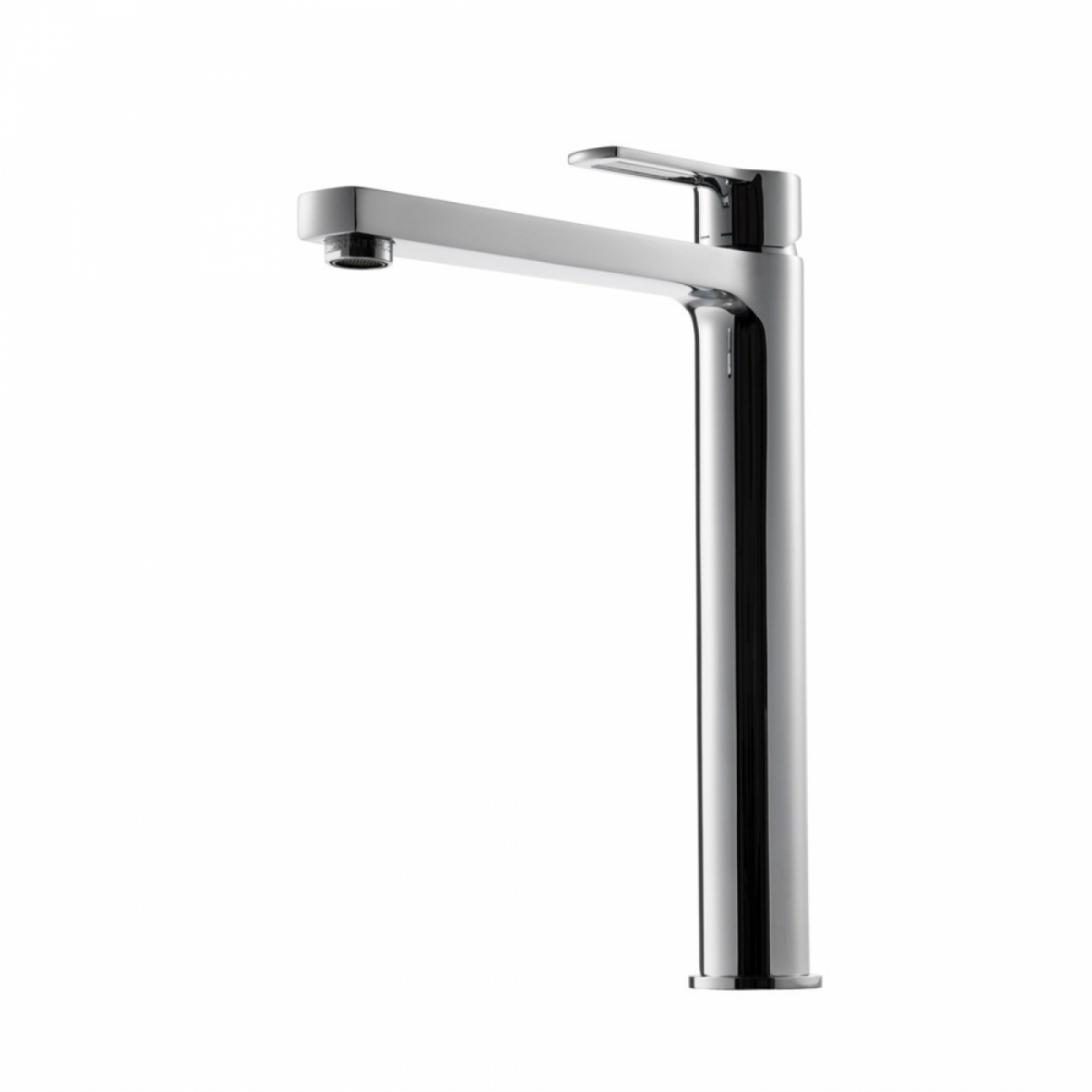 Basin Tap Ringo High, White